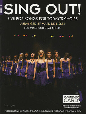 Sing Out Book 2 Vocal Sheet Music Book/DLC Mark De-Lisser Pop Singalong