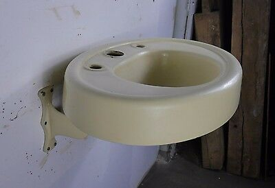 Antique Vintage Barber Sink Wall Hung Bathroom Sink 1930's #1