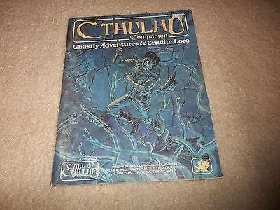 Call of Cthulhu Companion Ghastly Adventures & Erudite Lore