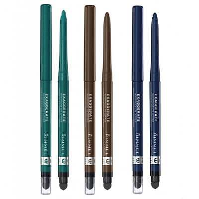 Rimmel Exaggerate Eye Definer Waterproof Pencil - Choose Your Shade