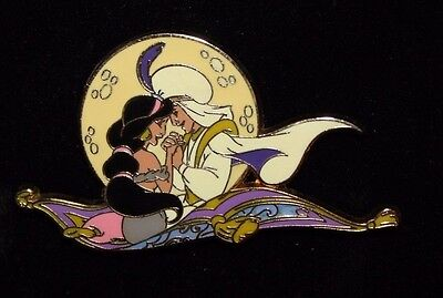Disney DS Shopping Aladdin Princess Jasmine Moonscape Series LE 250 Pin Carpet