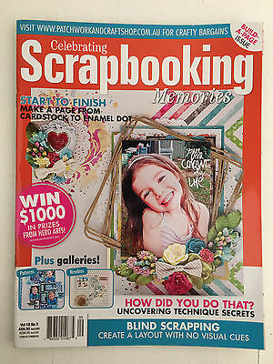 Celebrating Scrapbooking Memories Magazine Vol 18 No 3 Craft Diy Step By Step