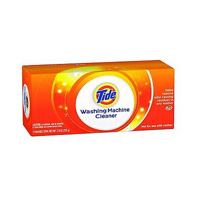 Tide Washing Machine Cleaner 3 Pouches