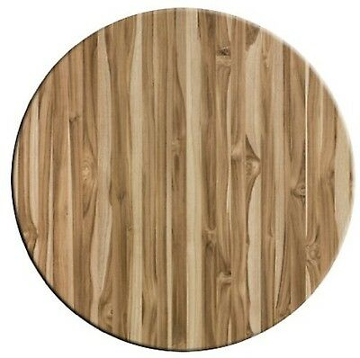 "American Trading Company 50-000-048 Werzalit Wood-Look Table Top 24"" Diameter..."