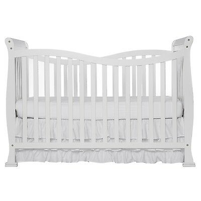 Dream On Me Violet 7 in 1 Convertible Life Style Crib White