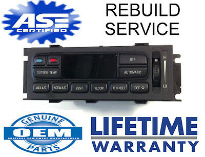 Crown Vic Grand Marquis Repair Service Eatc Heater Ac Atc Climate Temp Control