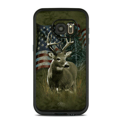 Skin for LifeProof FRE Galaxy S7 - Deer Flag by Michael McGloin - Sticker Decal