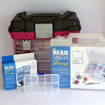 Storage Boxes / Cases For Jewellery Making-Beads-Crystals *large & Small Options