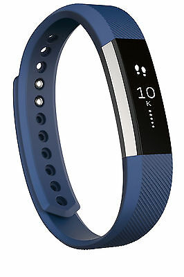 Fitbit Alta Smart Fitness Wristband Activity Tracker Sleep Pedometer Blue Large