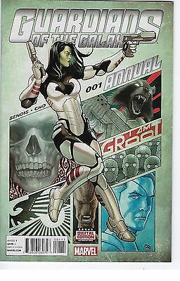 Guardians of the Galaxy Annual # 1 Marvel 1st Print NM