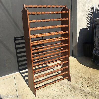 Wine Rack 108 Bottles Retro Vintage Solid Timber 3 Piece Stackable Or Separate