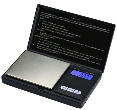 Smart Weigh SWS100 Elite Digital Pocket Scale 100 x 0.01g Free Next Day Delivery