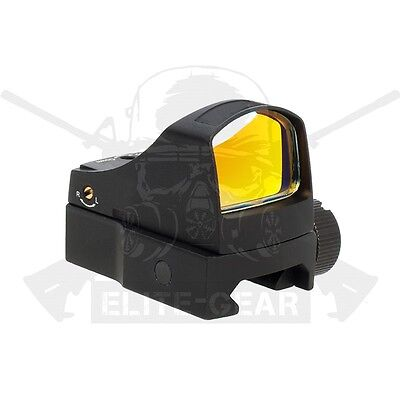 Black Tactical Docter III Style Red Dot Reflex Sight Auto Brightness Picatinny