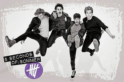 5 SECONDS OF SUMMER  JUMP 5SOS POSTER (61x91cm)  PICTURE PRINT NEW ART