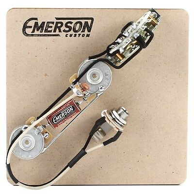 Emerson Custom T3 Thinline 250 k Prewired Kit 3 way fits to Tele ®