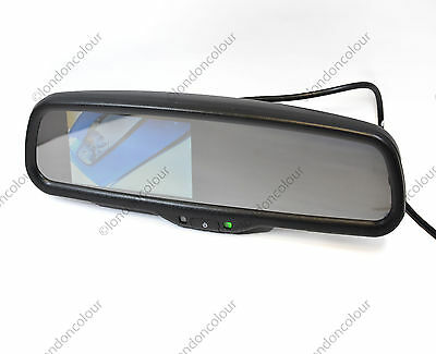 4.3 Inch Car Rear View Mirror Digital TFT LED Colour Monitor Honda Mitsubishi