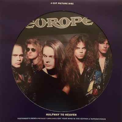 """EUROPE - Halfway To Heaven (12"""" Single) (Picture Disc) (EX/EX)"""