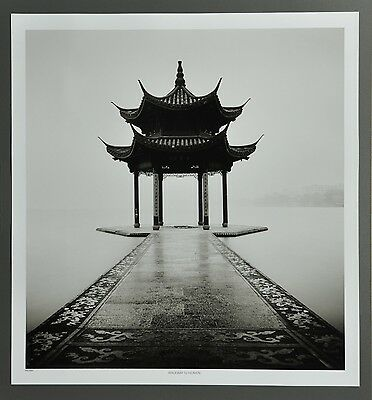 Josef Hoflehner Photo Kunstdruck Poster Art 50x53cm Walkway to Heaven China B&W