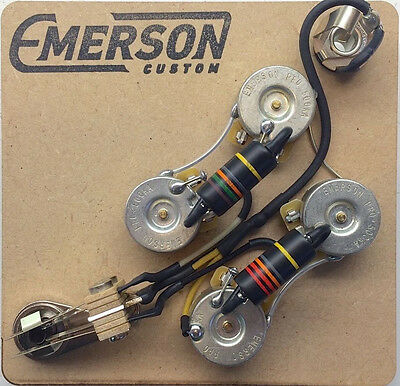 Emerson Custom - Prewired Kit SG - Standard - fits to SG ® - Bumble Bee Caps