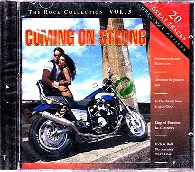 Rock Collection 3: Coming on strong (1994) Jam, Marillion, Status Quo.. [CD]