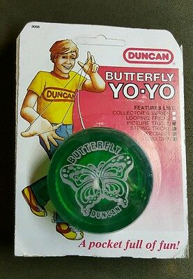 Vintage Duncan Butterfly Yo And String Pack Nos