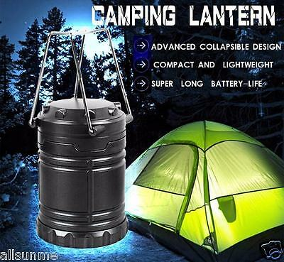 Portable Collapsible Power 30 LED Camping Lanterns Lights For Hiking Emergencies