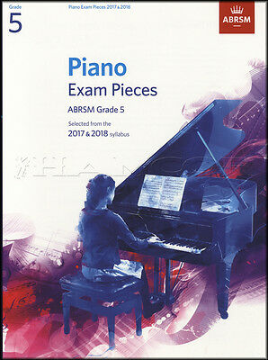 ABRSM Piano Exam Pieces 2017 2018 Syllabus Grade 5 Sheet Music Book Tests Songs