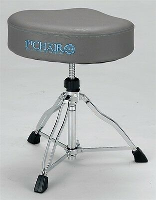 Limited Edition Tama 1st Chair Ergo-Rider Drum Throne, STONE GREY - HT730SG