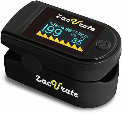 Acc U Rate CMS 500D Fingertip Pulse Oximeter SpO2 Blood Oxygen Level Monitor O2