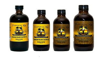 Sunny Isle Jamaican Black Castor Oil Original & Extra Dark Hair Skin Oil