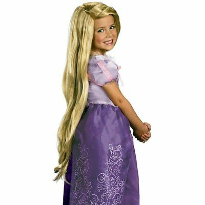 Cfly889 Rapunzel Custom Styled Blond Cosplay Wig (Child)
