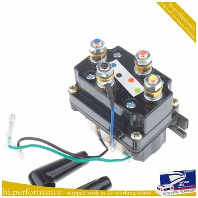 Authentic! 400A  Winch Solenoid Relay 12V protecting caps ATV UTV Truck Offroad