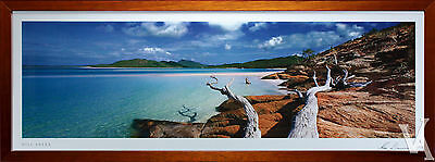 Ken Duncan Framed & Signed Scenic Signature Series Hill Inlet