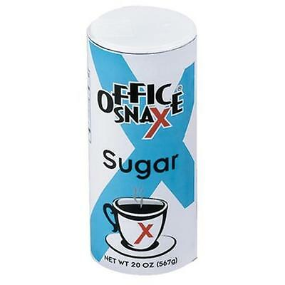 Office Snax 707-00019 Food Service Sugar Canister 20Oz