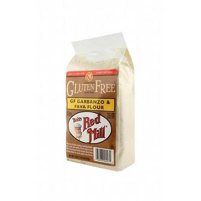 Bob'S Red Mill Garbanzo Fava Flour Gluten Free 22 Oz -Pack of 4