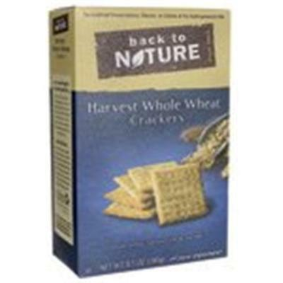 Back To Nature Whole Wheat Crackers Harvest 8.5 Ounce (Pack of 12)