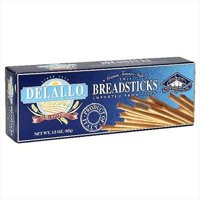 Delallo Thin Torinese Breadsticks 3.5-Ounce Packages -Pack of 12