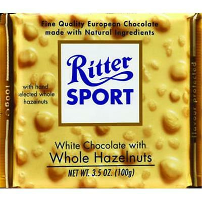 Choc Bar White Whl Hzlnut -Pack of 10