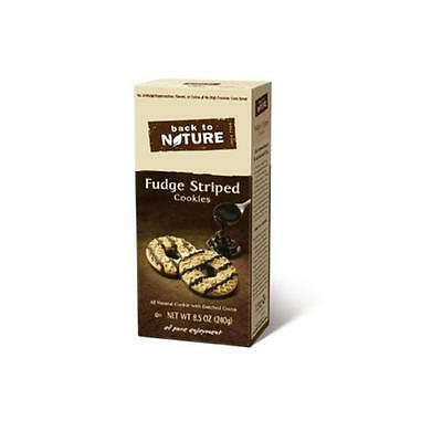 Back To Nature Fudge Striped 8.5 Ounce (Pack of 6)
