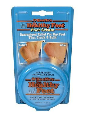O'Keeffe's Healthy Feet Foot Cream (91g) for Cracked/Split Skin, Non-Greasy UK