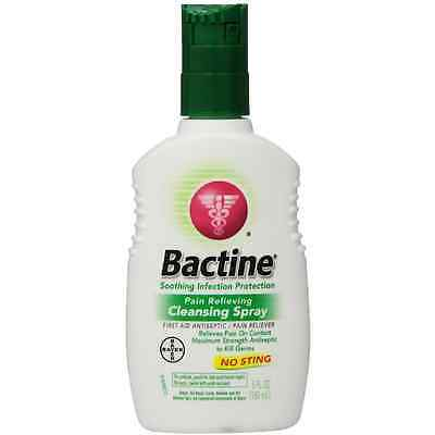 Bactine Pain Relieving Cleansing Spray 5 oz (Pack of 4)