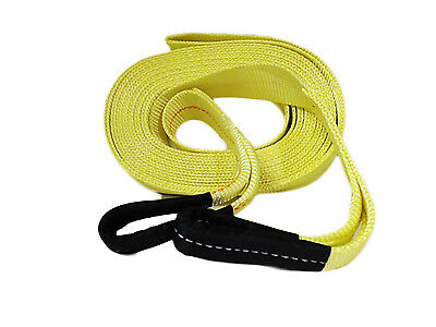 "ABN Tow Recovery Winch Strap with Reinforced Loops 2"" x 20' 20,000 LB Capacity"