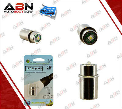 ABN LED 3-6 Cell Maglite Conversion Kit 200 Lumens Replacement Kit Upgrade