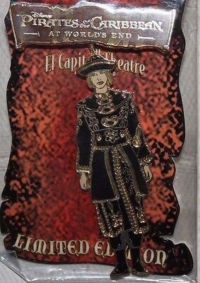 Disney DSF LE 500 Pin Pirates of the Caribbean At World's End Elizabeth Swann
