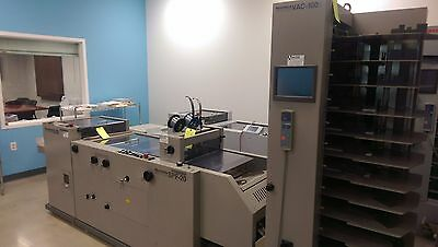 Horizon VAC-100a, SPF-20, FC-20 booklet making system, Duplo, Bourg, Watkiss