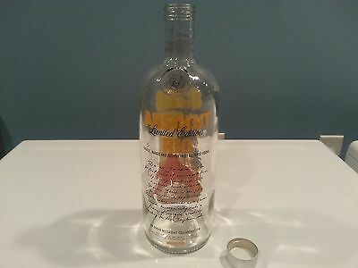 Worldwide Shipping - Empty Absolut Vodka Brazil Rio 1 Liter Collector Bottle