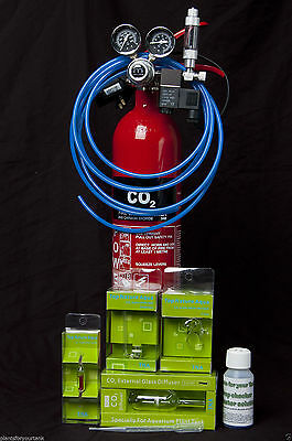 2kg CO2 Pressurised CO2 kit for your planted aquarium including drop checker kit