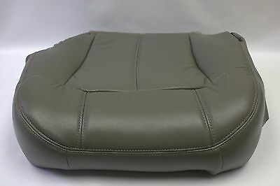 1999 2000 2001 2002 Chevy Tahoe Suburban Driver Bottom Seat Cover Gray 922 522
