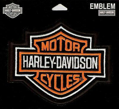 """HARLEY DAVIDSON SMALL BAR AND SHIELD 3""""x3"""" PATCH - TRADITIONAL DESIGN"""