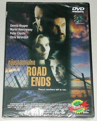 Road Ends - Dennis Hopper Action Brand New Sealed Region Free Pal Dvd